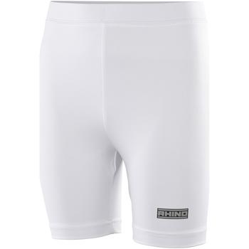 Textiel Dames Korte broeken / Bermuda's Rhino RH10B Wit