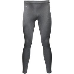 Textiel Dames Leggings Rhino RH011 Heide Grijs