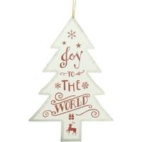 Wonen Kerst decoraties Christmas Shop Taille unique Witte Vreugde