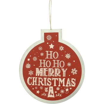Wonen Kerst decoraties Christmas Shop Taille unique Red Ho Ho Ho