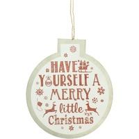 Wonen Kerst decoraties Christmas Shop Taille unique Witte Vrolijk