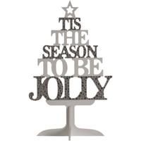 Wonen Kerst decoraties Christmas Shop Taille unique Zilver/Wit