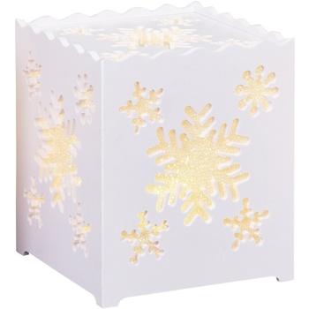 Wonen Tafellampen Christmas Shop Taille Unique Sneeuwvlokje