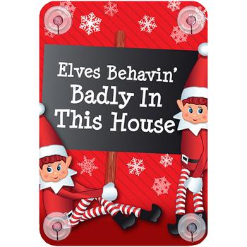 Wonen Kerst decoraties Christmas Shop Taille unique Elfen die zich slecht gedragen in dit huis
