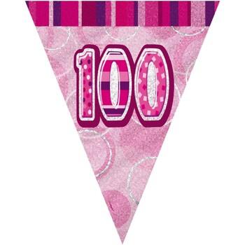 Wonen Stickers Unique Party 274 cm Roze