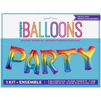 Wonen Stickers Unique Party Taille unique Regenboog
