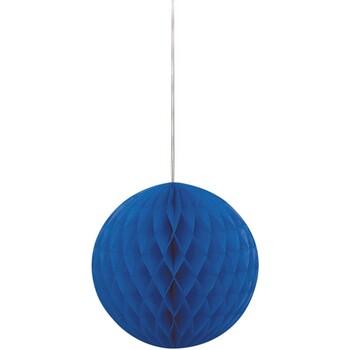 Wonen Feestelijke decoraties Unique Party 20 cm SG5382 Koningsblauw