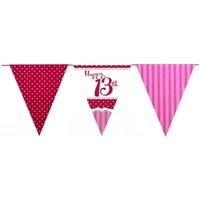 Wonen Stickers Creative Party Taille unique Rood/Wit/Roze