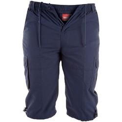 Textiel Heren Korte broeken / Bermuda's Duke  Marine