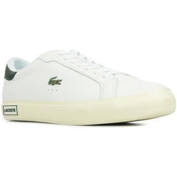 Schoenen Heren Lage sneakers Lacoste Powercourt Wit