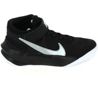 Schoenen Kinderen Basketbal Nike Team Hustle D 10 Flyease Jr Noir Blanc 1010812400010 Zwart