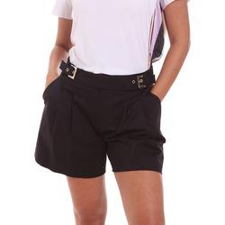 Textiel Dames Korte broeken / Bermuda's Fracomina FR21SP1006W44001 Zwart