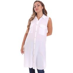 Textiel Dames Overhemden Fracomina FR21ST1017W42801 Wit
