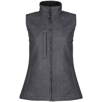 Textiel Dames Jacks / Blazers Regatta RG155 Zegelgrijs/Zwart gemêleerd