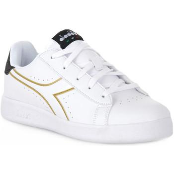 Schoenen Meisjes Lage sneakers Diadora 2296 GAME P PS GIRL Bianco