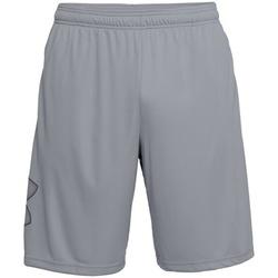 Textiel Heren Korte broeken / Bermuda's Under Armour UA017 Staal Grijs/Zwart