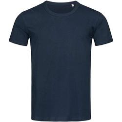 Textiel Heren T-shirts korte mouwen Stedman Stars Stars Blauw