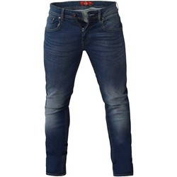 Textiel Heren Skinny jeans Duke  Donkerblauwe Stonewash