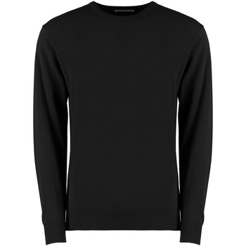 Textiel Heren Sweaters / Sweatshirts Kustom Kit K253 Zwart