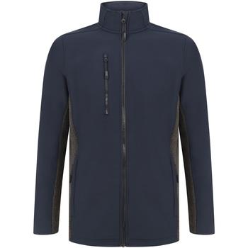 Textiel Jacks / Blazers Henbury HB835 Marine/Charcoal