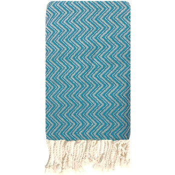 Accessoires Dames Sjaals Traditions Med MONACO TURQUOISE Blauw