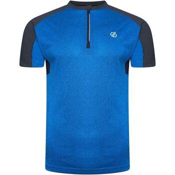 Textiel Heren T-shirts korte mouwen Dare 2b  Benzineblauw/methylblauw