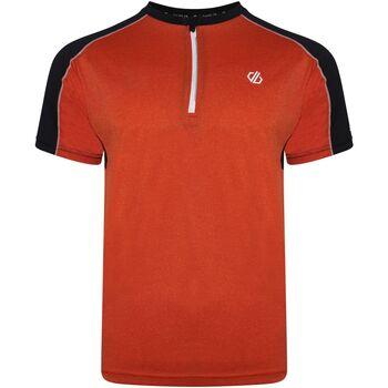 Textiel Heren T-shirts korte mouwen Dare 2b  Trail Blaze Rood/Zwart