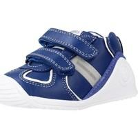Schoenen Jongens Hoge sneakers Biomecanics 201132 Blauw