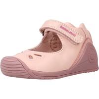 Schoenen Meisjes Derby & Klassiek Biomecanics 211105 Roze
