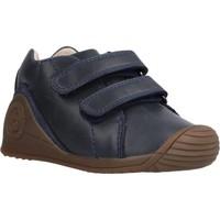 Schoenen Jongens Laarzen Biomecanics 211135 Blauw