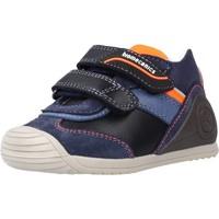 Schoenen Jongens Hoge sneakers Biomecanics 211142 Blauw