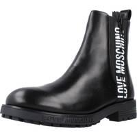 Schoenen Dames Enkellaarzen Love Moschino JA21094G1D Zwart