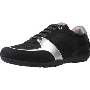 Schoenen Dames Lage sneakers Geox D RAVEX Zwart