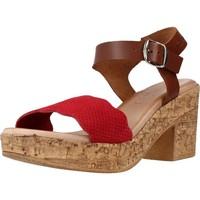 Schoenen Dames Sandalen / Open schoenen Chardi 4021CH Rood