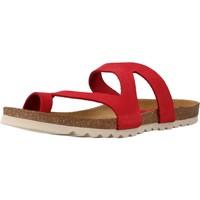 Schoenen Dames Leren slippers Chardi 4170CH Rood