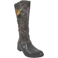 Schoenen Dames Hoge laarzen Laura Vita Gacmayo 15 Zwart Meerkleurig
