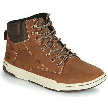 Schoenen Heren Hoge sneakers Caterpillar COLFAX MID Bruin