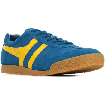 Schoenen Heren Lage sneakers Gola Harrier Suede Blauw