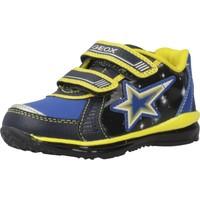 Schoenen Jongens Lage sneakers Geox B TODO BOY Blauw