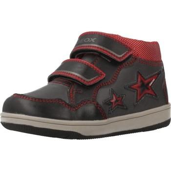 Schoenen Jongens Hoge sneakers Geox B NEW FLICK BOY Grijs