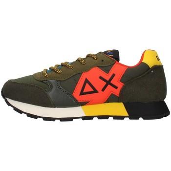 Schoenen Jongens Lage sneakers Sun68 Z41313 GREEN
