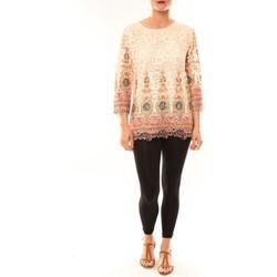 Textiel Dames Tunieken Meisïe Tunique 23-250SP15 Écru Beige