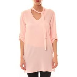 Textiel Dames Korte jurken La Vitrine De La Mode Robe 156 By La Vitrine Rose Roze