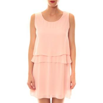 Textiel Dames Korte jurken La Vitrine De La Mode Robe TROIS By La Vitrine Rose Roze