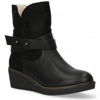 Schoenen Dames Enkellaarzen Etika 55086 zwart