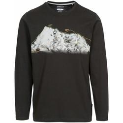 Textiel Heren T-shirts met lange mouwen Trespass  Zwart