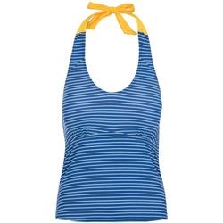 Textiel Dames Bikini Trespass  Blauwe maanstreep
