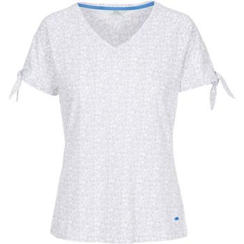 Textiel Dames T-shirts korte mouwen Trespass  Platina