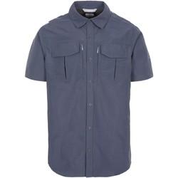 Textiel Heren Overhemden korte mouwen Trespass  Donkergrijs