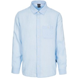 Textiel Heren Overhemden lange mouwen Trespass  Lichtblauw